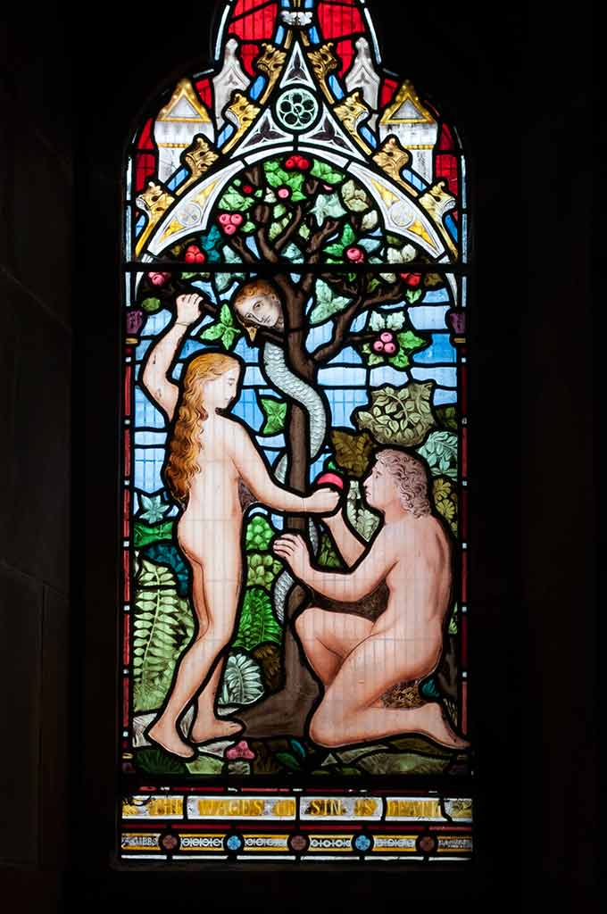 Adam and Eve Window