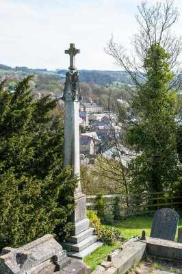 Memorial Cross in Churchyard