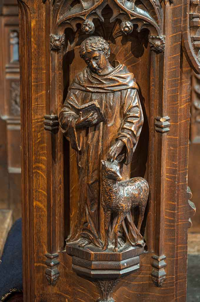St Giles Carving